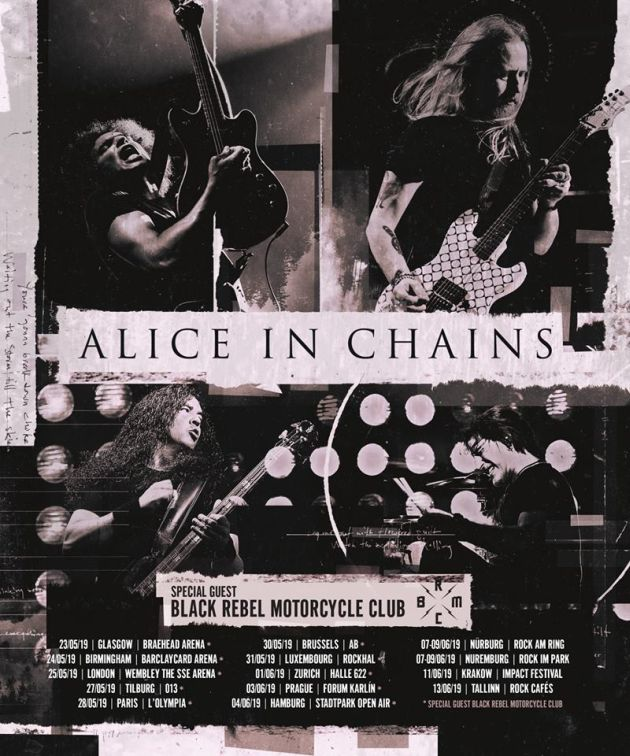 aliceinchains europe2019