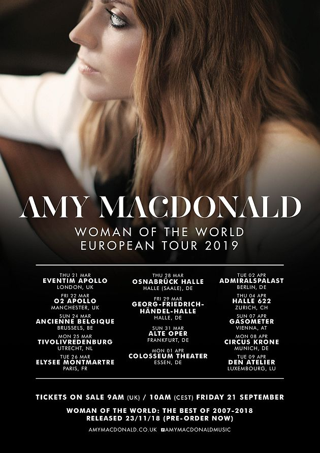 Reflections Of Darkness Music Magazine Preview Amy Macdonald