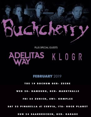 buckcherry tour2019