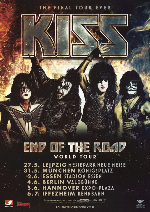 kiss germany2019
