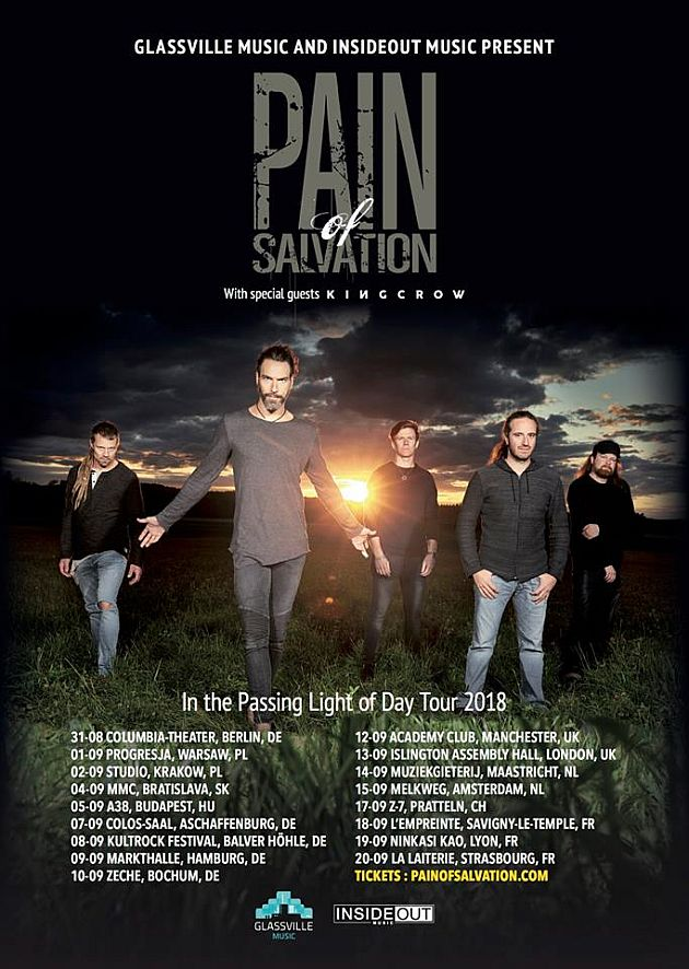 painofsalvation tour2018