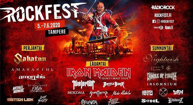 Rockfest Tampere 2021