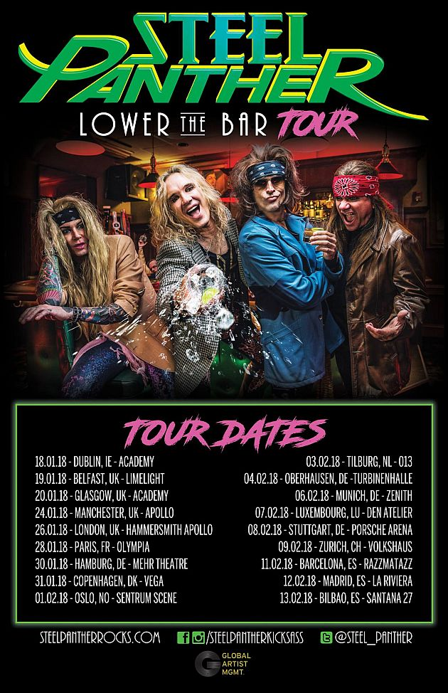 steelpanther tour2018