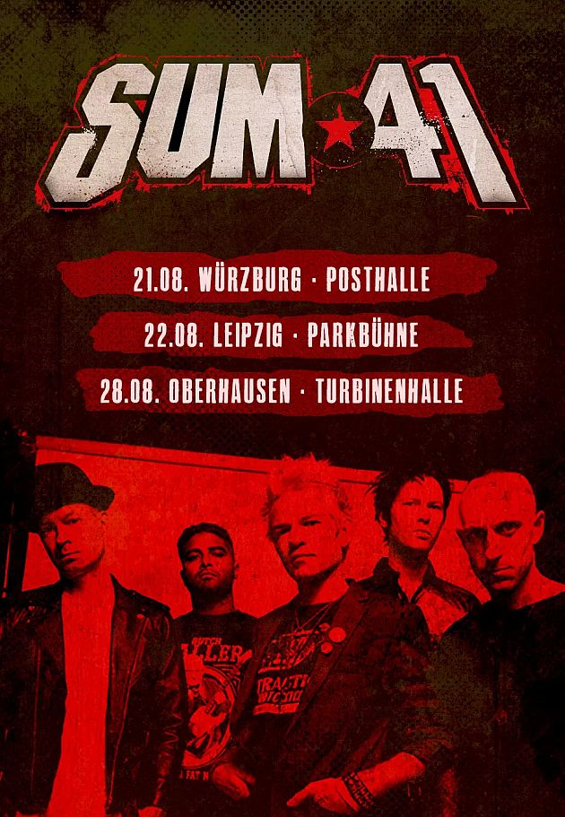 sum41 germany august2018