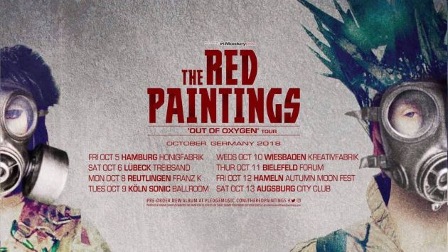 theredpaintings tour2018
