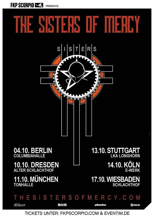 thesistersofmercy germany2019