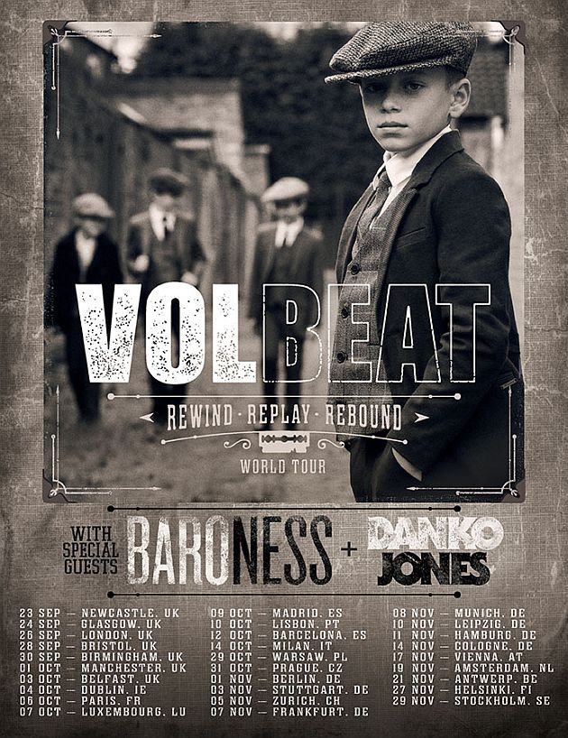 volbeat tour2019