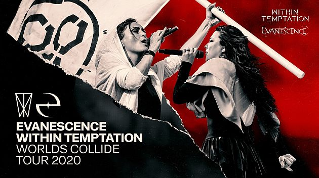 withintemptation evanescence tour2020