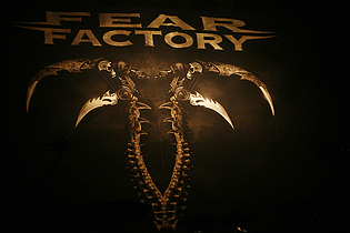Back Factory Herford reflections of darkness magazine fear factory herford 2010