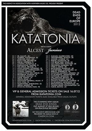 katatonia tour2012