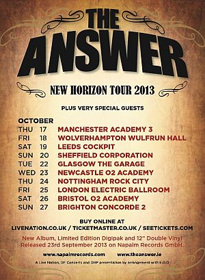 theanswer tour2013