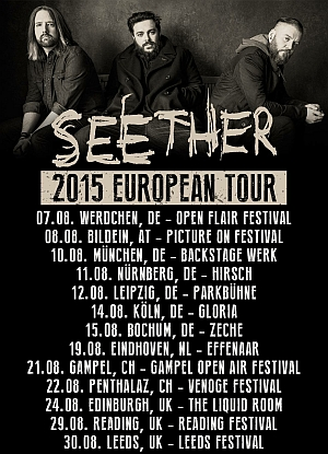 Seether Tour 2020.Reflections Of Darkness Music Magazine Seether Open
