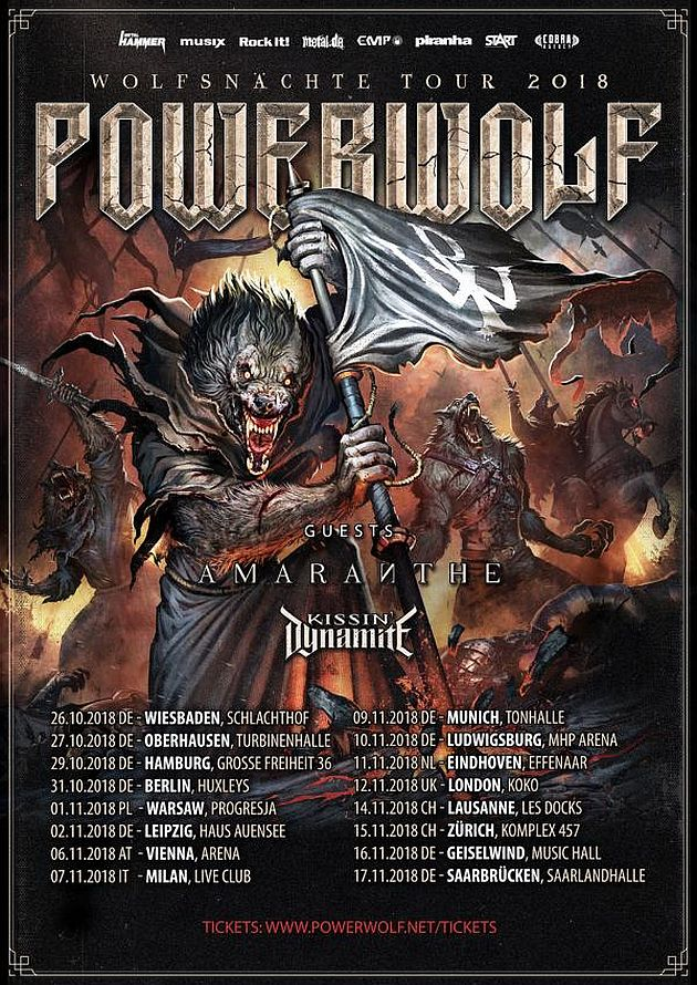 powerwolf wolfsnaechte2018