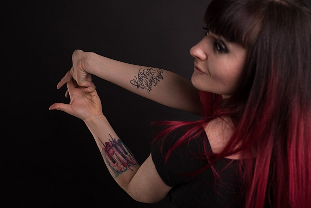 Reflections Of Darkness Music Magazine Special Artists And Their Tattoos Arranger Keyboardist Composer Katarina Gubanova Aka Miss Key