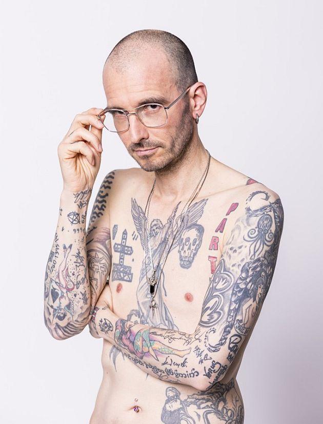 Mark Benecke Tattoo
